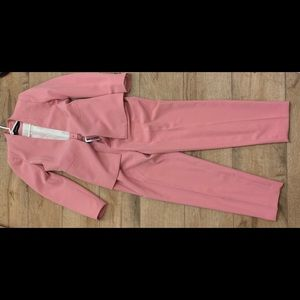 Zara Pants - Pink blazer and pants suit. Both USA size small